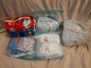 Large Little Swimmers & Size 5 & 6 Pampers