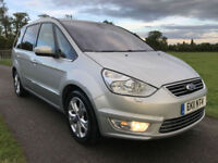 2011 11 Ford Galaxy 2.0 TDCi Titanium X 7 SEATS 6 SPD MANUAL 165 BHP 57.7 MPG PX