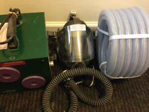 PRO AIR NIOSH APPROVED W/40' HOSE, (1man,full mask)