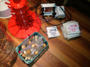WINE MAKING SUPPLIES, EQUIPMENT, BUON VINO FILTER, CARBOYS, Etc