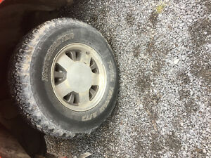Tires and rims Chevy 2wd 5 bolt