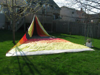 NEW REDUCED PRICE---MULTI COLORED SPINNAKER