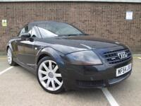 2004 (54) AUDI TT COUPE BLACK 1.8 TURBO 180BHP QUATTRO FULL LEATHER