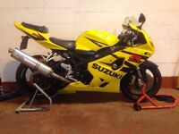 GSXR K4 fairing kit £150 or best offer (THE BIKE IS NOT FOR SALE)