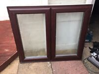 Two double glazed window in excellent condition Ono