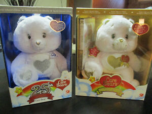 2 care bears (25th Special and  Premier Collector's Edition)