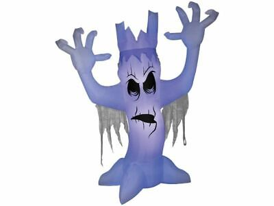 Inflatable Scary Tree 12 Ft Halloween Airblown Black Light Effect Haunted House