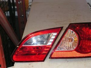 CHRYSLER SEBRIG SEDAN TAIL LIGHT ASSEMBLY 2007 2008