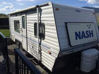 22ft Nash Travel Trailer