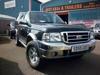 FORD RANGER 2.5 XLT THUNDER 2005 DIESEL PICK UP 4X4 NEW TYRES NICE MILEAGE