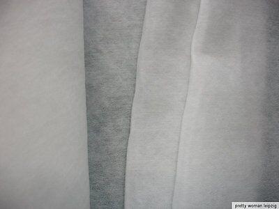 1 Laufmeter Wattierung 2,43€/m²   zum aufbügeln weiß