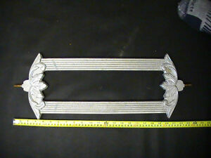 Antique Cast Metal Art Deco Balusters with Supports
