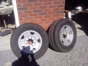 Two winter tires for f250 Kawartha Lakes Peterborough Area image 1