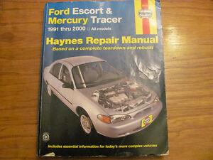 livre Haynes pour ford escort