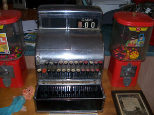Antique Cash Register - Fully Working