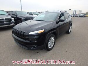 2015 JEEP CHEROKEE NORTH 4D UTILITY 4WD 3.2L NORTH