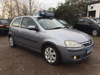 2004 Vauxhall Corsa 1.2i SXi ** 72k MILES ** 12 Months Mot 3dr Petrol