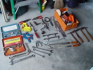 Large variety of tools