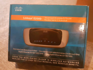 Routeur Cisco Linksys E2000