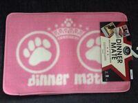 New Dog Food Mat