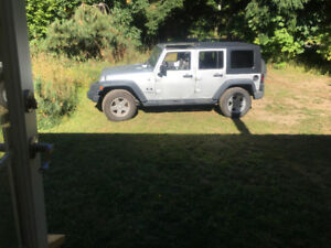 4 Door Jeep Wrangler Unlimited X