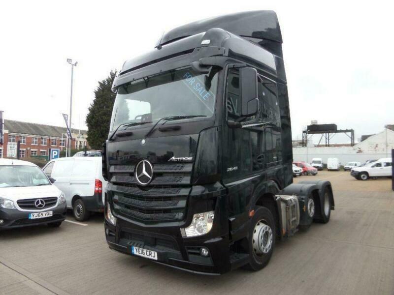 ac44355371 2016 Mercedes Benz Actros 2545 LS VLA 6x2 2 22.5