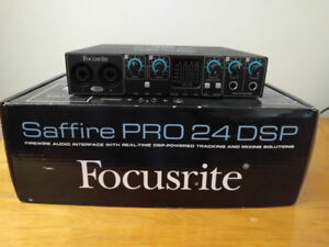 Interface audio firewire Saffire pro 24 DSP