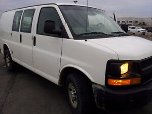 2012 Chevrolet Express Minivan, Van quick sale