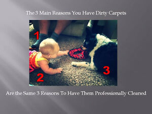 The 3 Main Reasons Your Carpets Are Dirty