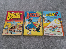 Comic Annuals all Unclipped