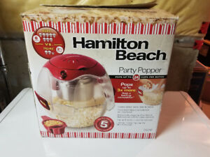 Hamilton-Beach Kettle Style Popcorn Maker - 24 Cups