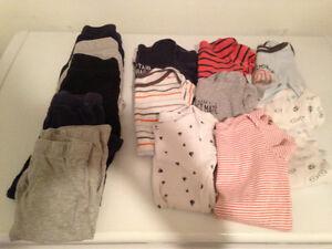 Caches couches et pantalons 6-12 mois. Vaudreuil West Island Greater Montréal image 1