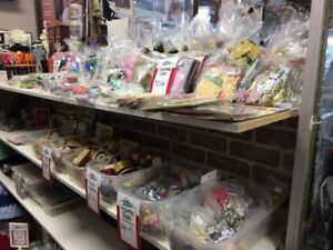 The Family Treasure Chest, Has a huge selection of Craft Items