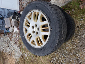 Winter tires on Subaru Outback alloy rims 225 60 16