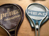 Assorted Racquets $5 to $20
