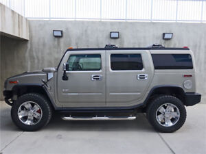 2003 HUMMER H2 - low KM, Supercharged, no accidents.