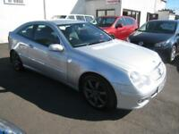 2006 Mercedes-Benz C220 2.1TD CDI SE Auto Coupe. MOT May 2019