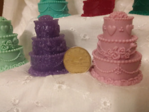 Wedding Cakes Soap (Wedding/Shower Favours)