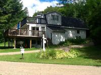 7 bedroom, lakefront cottage
