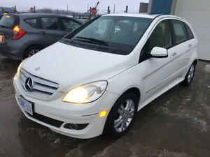 Safetied!!! 2008 Mercedes B200 Turbo - Manual Transmission 4 cyl