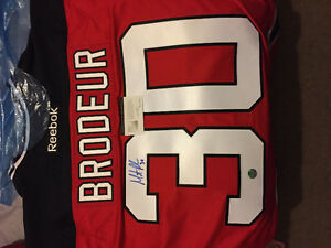 Authentic signed Martin Broduer jersey