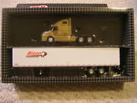 1/64 scale Diecast Metal Bison Transport, Truck and Trailer $75