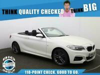 2016 BMW 2 Series 230I M SPORT Auto Convertible Petrol Automatic