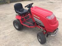Countax C400H sit on mower with sweeper