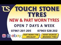 Tyres fitted. New & PartWorn tires . Car & Van Used & Part Worn tyres . TIRE SHOP