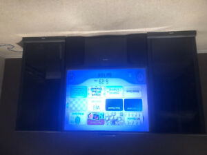 """TV Toshiba 50"""" with side cabinets"""