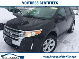 Ford EDGE 4dr SEL AWD MAGS,BLUETOOTH,BANCS CHAUF 2014