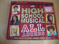 High School Musical Hard Cover Book