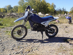 YAMAHA PW80 , I WOULD LIKE TO TRADE FOR xr70 or crf70