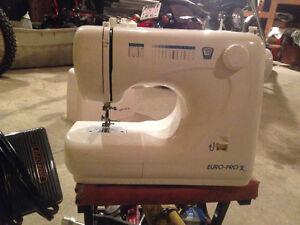 Like new Euro Pro X sewing machine